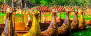 Angkor Gondola Boat