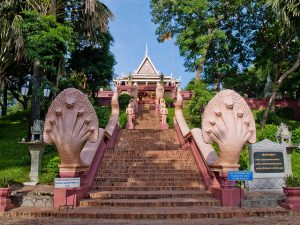 The Wat Phnom, Phnom Penh