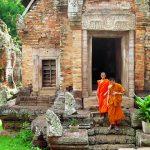 Phnom Chisor Temple, Phnom Penh, Cambodia