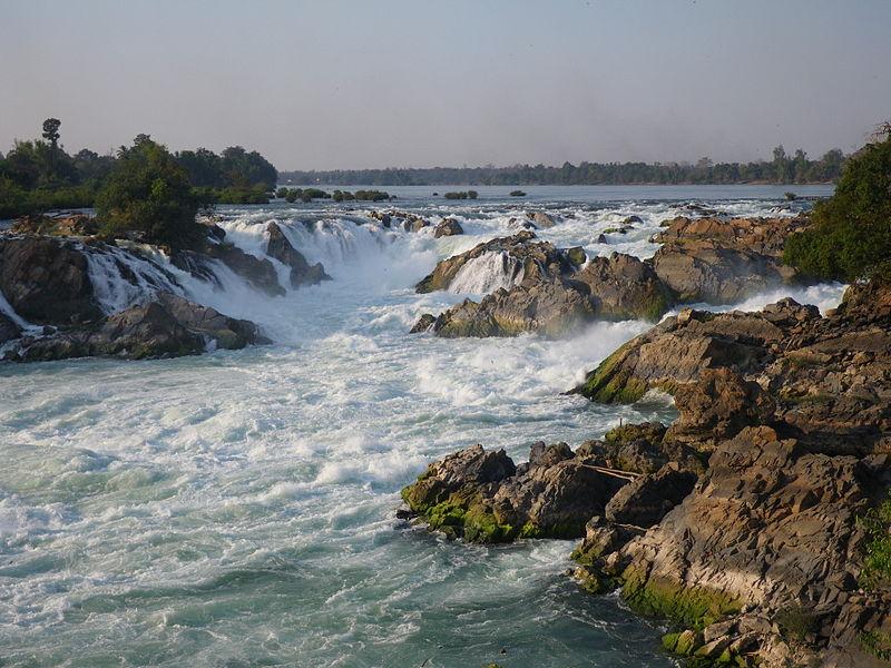 Lbak Khaon Waterfall, Stung Treng