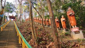 Sambok mountain pagoda