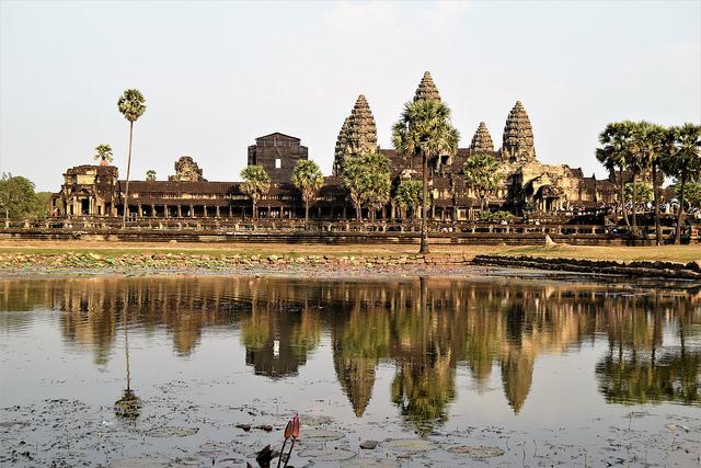 Angkor Wat,. Cambodia