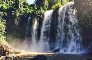 O Taing Laing Waterfall